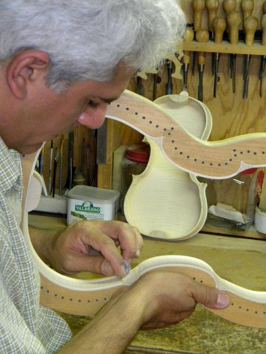 Shahram-Making-Violin